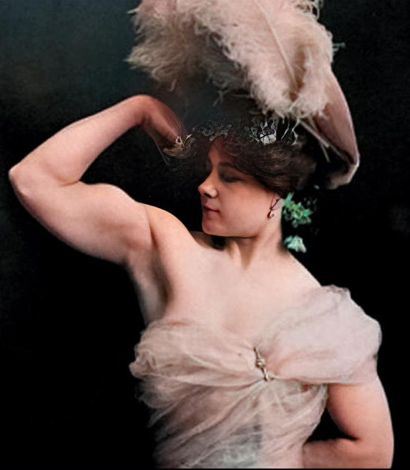 La gran sandwina, la mujer hércules